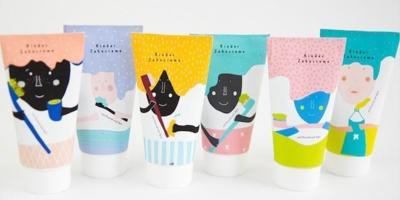 Por fin una pasta de dientes con un packaging original y divertido