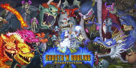 Ghosts 'N Goblins Resurrection nos invita a estar atentos a su retorno con 10 minutos de gameplay