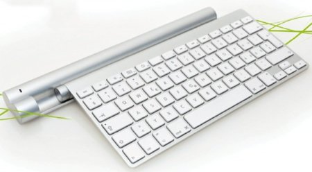 Cargadores inductivos para el Teclado y MagicTrackpad de Apple