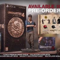 Vive al máximo el lanzamiento de Uncharted 4 con estas flamantes ediciones especiales