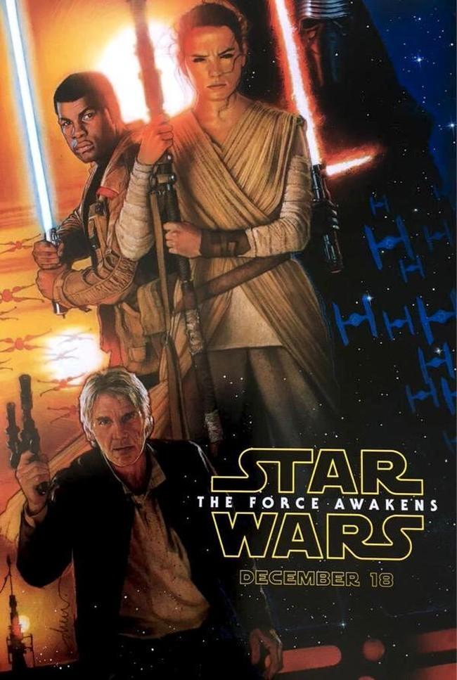 Teaser póster de 'Star Wars VII' y primera imagen oficial del spin-off 'Rogue One'