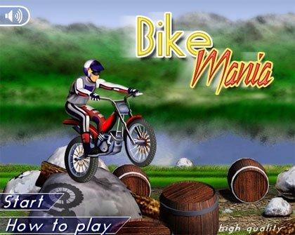 Bike Mania, otro jueguecito en flash