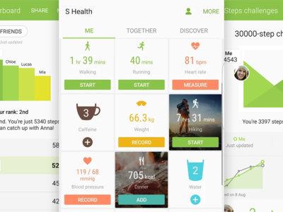 S Health 5.0 sigue apostando por las funciones sociales