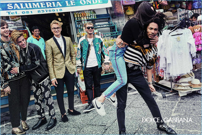 Dolce Gabbana Spring Summer 2017 Mens Campaign 002