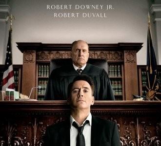 'El juez', cartel de la película con la que Robert Downey Jr. aspira al Oscar