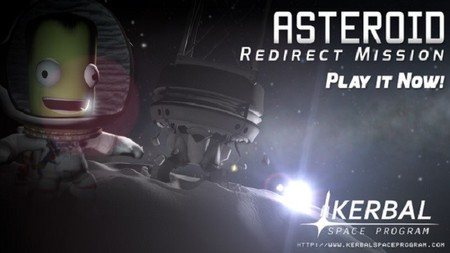 Asteroid Redirect Mission ya disponible en Kerbal Space Program
