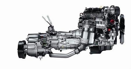 land Rover Defender motor 2.2