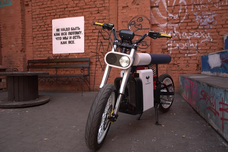 Punch Moto Electrica Bielorusa