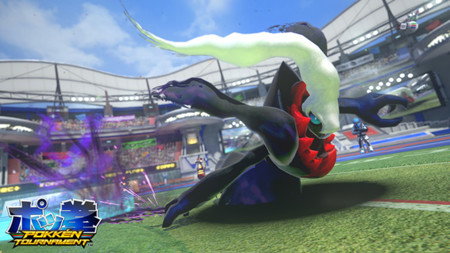 Ya liberaron más screenshots de Darkrai para el arcade de Pokken Tournament