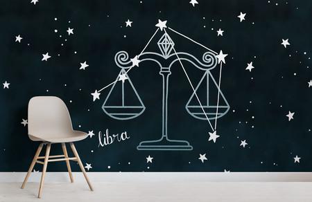Papel Pintado Constelaciones Del Zodiaco Libra Chair Weblandscape