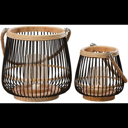 Farolillos de bambú