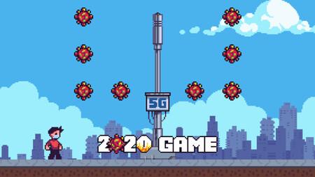 '2020 Game' es una fantasía de juego que revive en clave plataformera todos los hechos de 2020