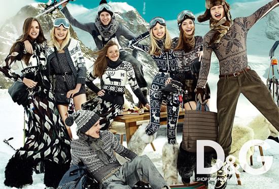 Foto de Campaña de D&G para el Otoño-Invierno 2010/2011 (2/4)