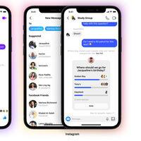 Instagram y Messenger unifican sus chats de grupo y ahora te muestran que alguien está escribiendo