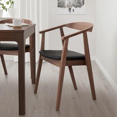 Stockholm es la silla de Ikea de aires escandinavos y diseño retro que todos quieren tener en su casa