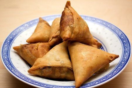 Introducción a la comida India: las Samosas