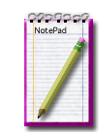 Notepad, un pequeño bloc de notas