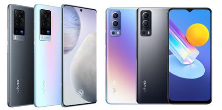 Los Vivo X60 Pro 5G, Vivo Y72 5G y Vivo Y52 5G llegan a España: precio y disponibilidad oficiales