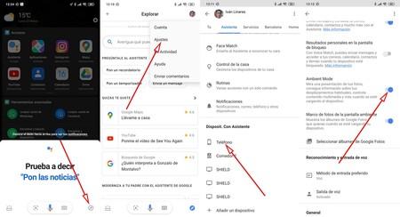 Desactivar Ambient Mode Google Assistant