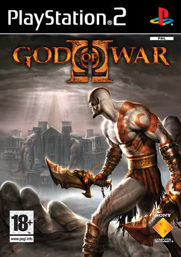 Portada de God of War II