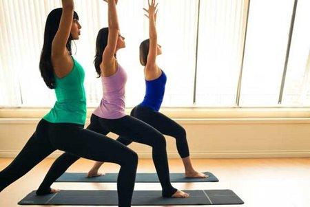 Yoga amigas