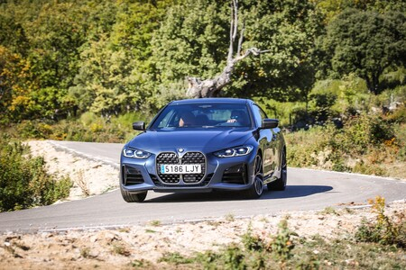 BMW Serie 4 Coupe delantera dinámica