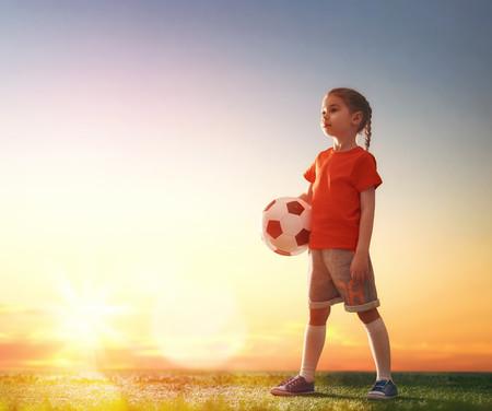 niñas futbolistas