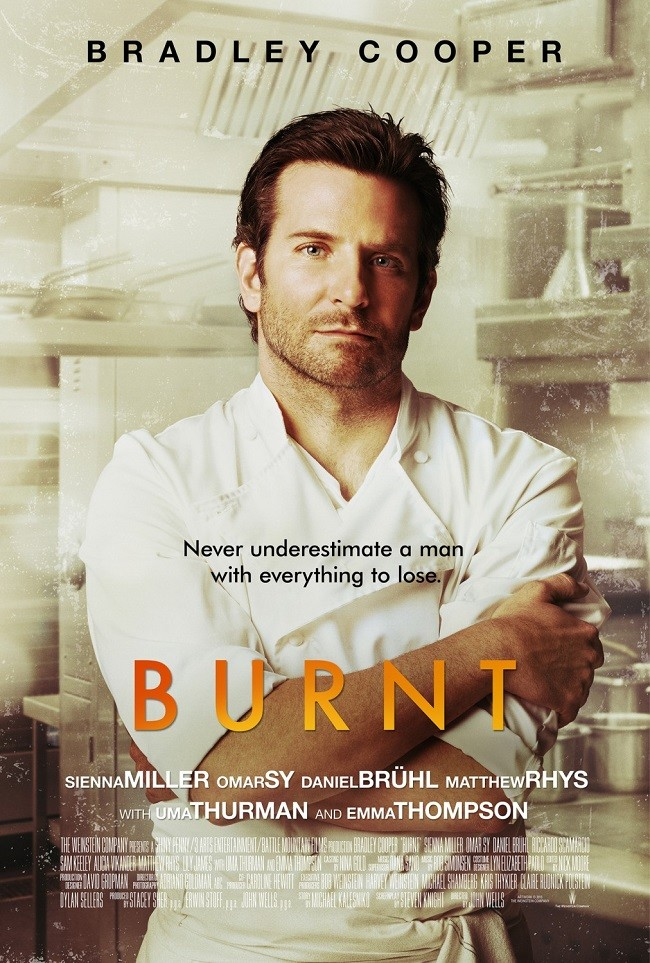 Cartel de 'Burnt'