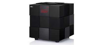 El cubo de LG, altavoz inalámbrico homenaje al homónimo de Rubik