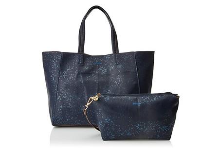 Por sólo 28,06 euros podemos hacernos con el bolso de Desigual  Cuenca Metal Splatter Shopping bag en Amazon