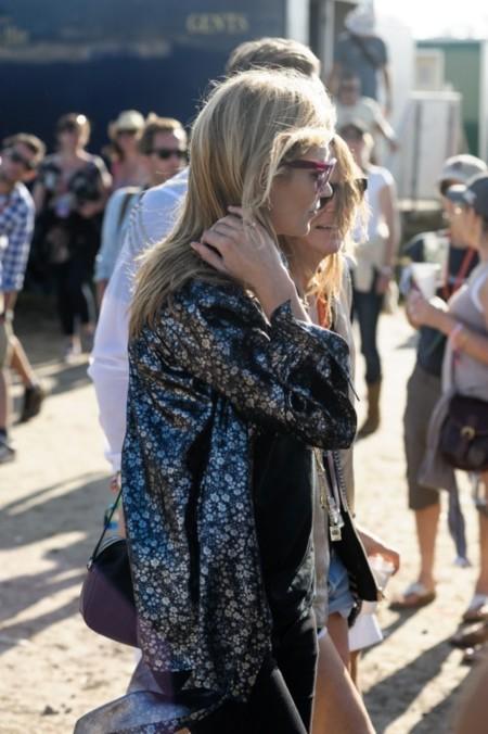 ¿Cómo te has paseado este año por Glastonbury, Kate Moss?