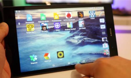 Xperia Z3 Tablet Compact Software 1