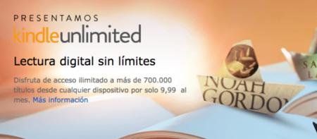 Amazon estrena Kindle Unlimited y su tarifa plana de libros en España
