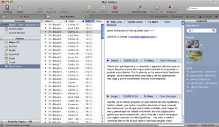 PostBox beta, un primer vistazo a la aplicación de correo alternativa para Mac OS X