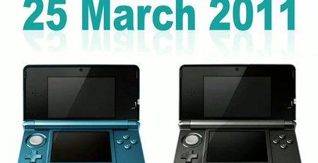 Nintendo 3DS, fecha de lanzamiento en Europa y precio en América. Actualizada con posible precio en Europa