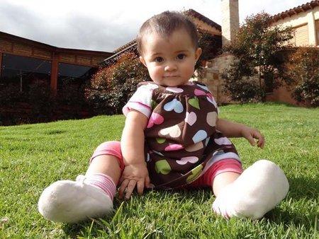 La foto de tu bebé: el primer añito de Rosario