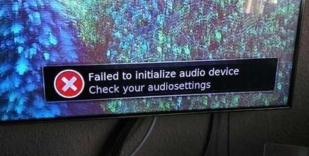 Problema en el audio al intentar reproducir cualquier vídeo