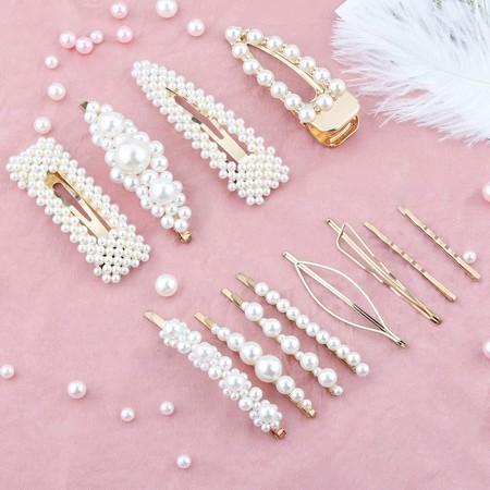 Horquillas Perlas 2