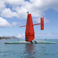 Este dron marino autónomo funciona con energía solar y eólica y tiene como misiones mapear todo el suelo oceánico e investigar huracanes