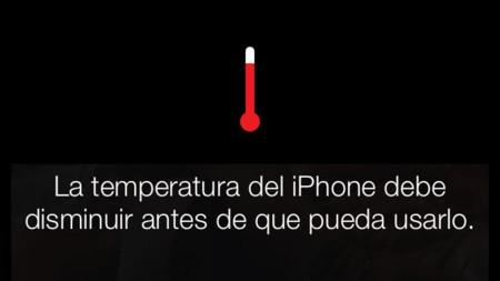 Así es el aviso de sobrecalentamiento de iOS 7