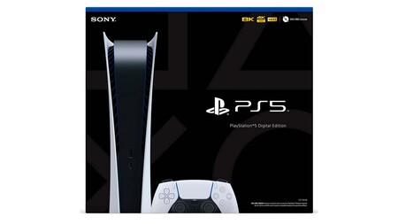 """PlayStation 5 digital tendrá una """"nueva"""" versión: 300 gramos más ligera y con otro tornillo en la base"""