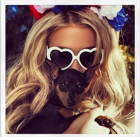 A este paso Paris Hilton nos monta un zoológico en casa