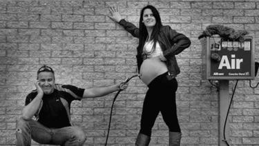 Los nueve meses de embarazo en 15 divertidos gifs