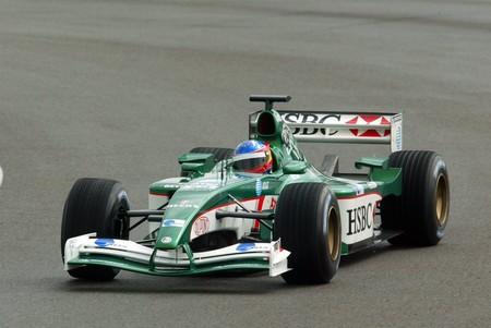 Fernando Alonso Jaguar Silverstone F1 2002