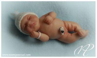 Bebés en miniatura de Noemí Pascual