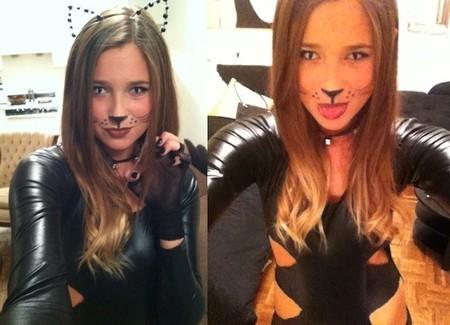 ¿Estás preparada para Halloween? Sé una gata terroríficamente sexy