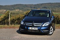 Mercedes-Benz Clase B, presentación y prueba en Austria (parte 1)