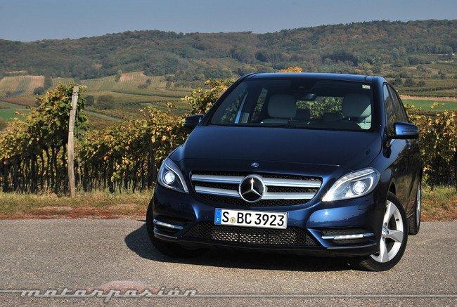 Mercedes benz clase b presentaci n y prueba en austria for Mercedes benz austria