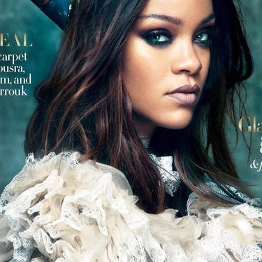 Rihanna se convierte en la reina Nefertiti para una portada, pero no todo el mundo está contento con ello