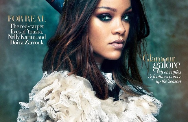 rihanna nefertiti vogue arabia